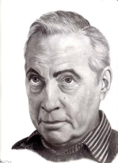 Michel Serrault by seizeart